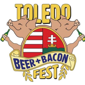 beer and bacon logo digital
