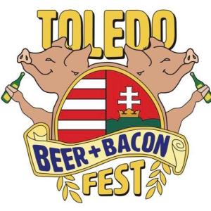 beer and bacon logo digital